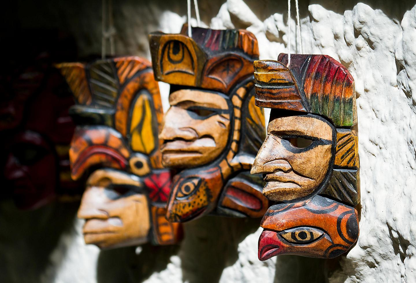 Local Mayan Art in Belize