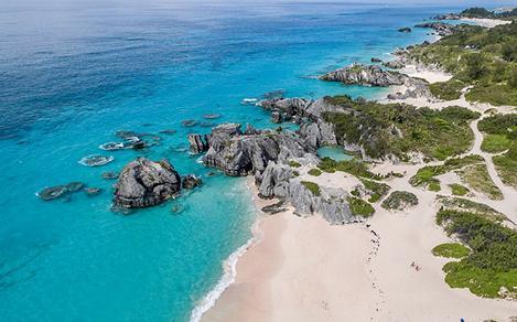 Bermuda Kings Warf Tranquil Beach