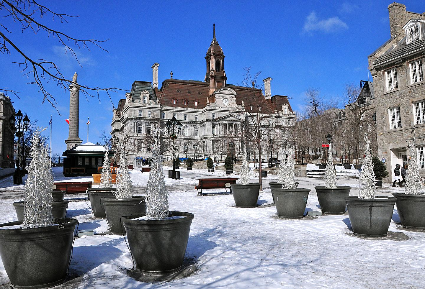 Canada Quebec Montreal Place Jacques Cartier