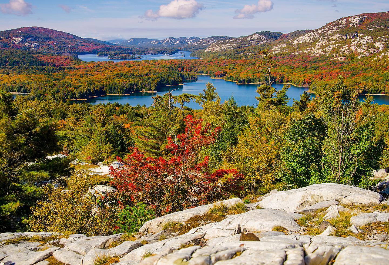 Ontario Canada Killarney Fall Foliage