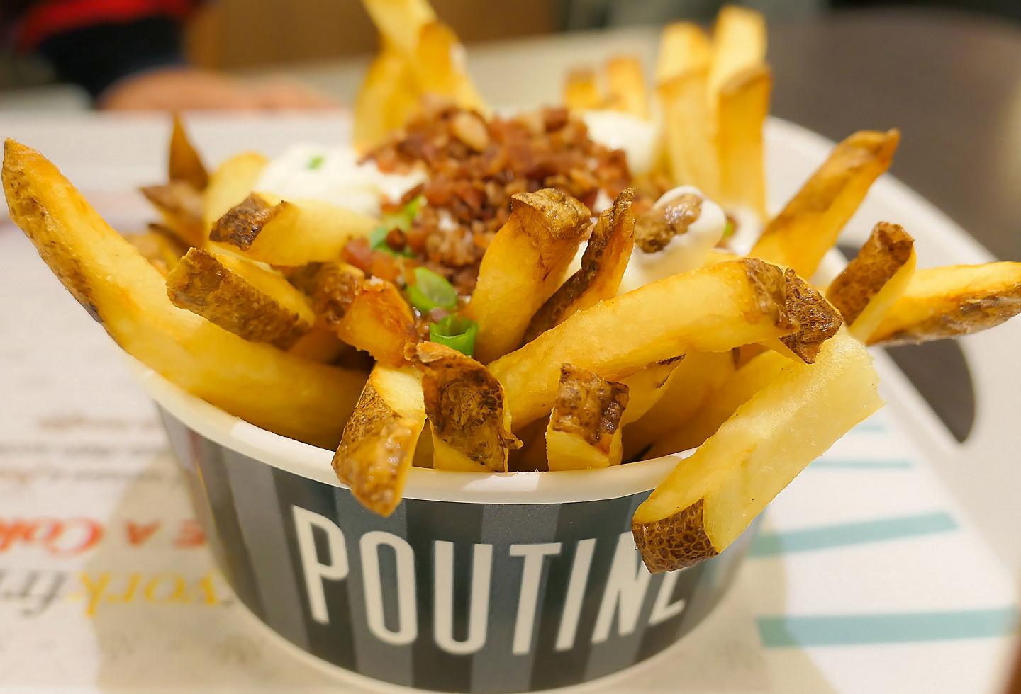 Quebec City Poutine French Fries