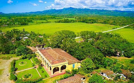 Aerial View of Valley de los Ingenios