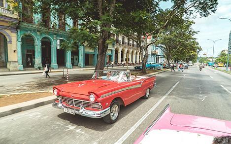 havana classic retro car
