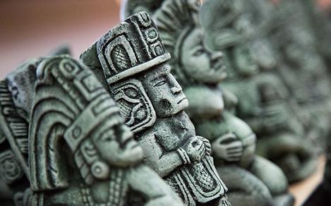 Ancient Mayan Statues Souvenirs