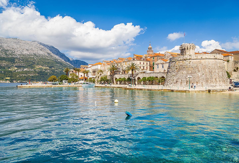 Croatia Korcula Island Coast