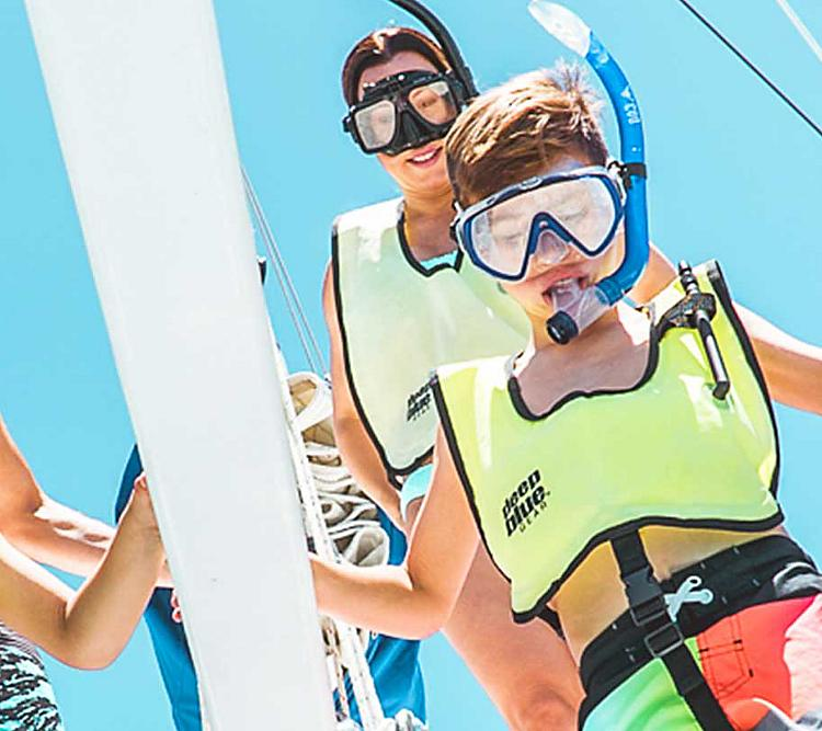 Family Snorkeling Caribbean Cruises
