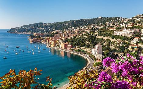 Scenic View of Cote D'azur