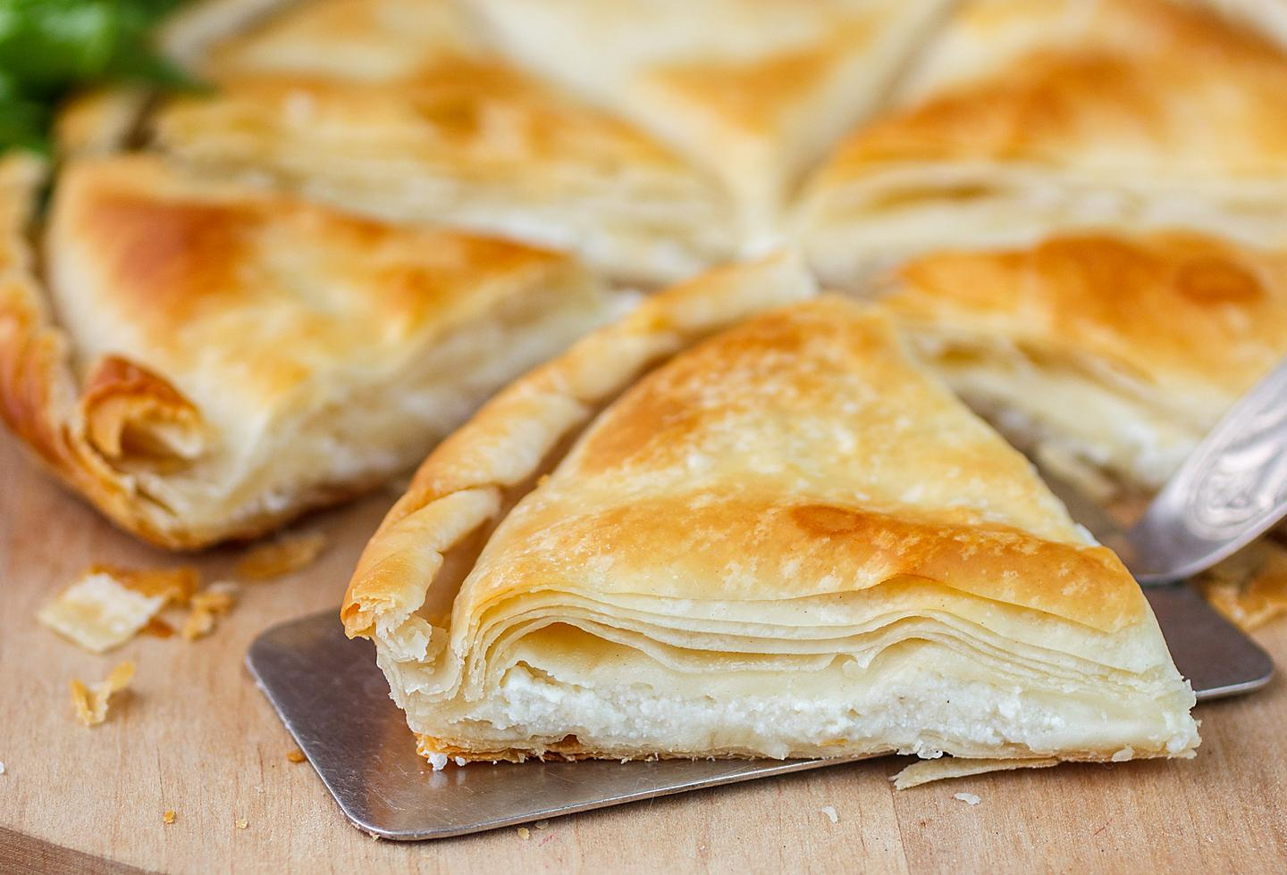 Greece Tiropita Cheese Puff