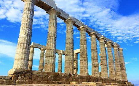 Temple Poseidon Sounion Greece
