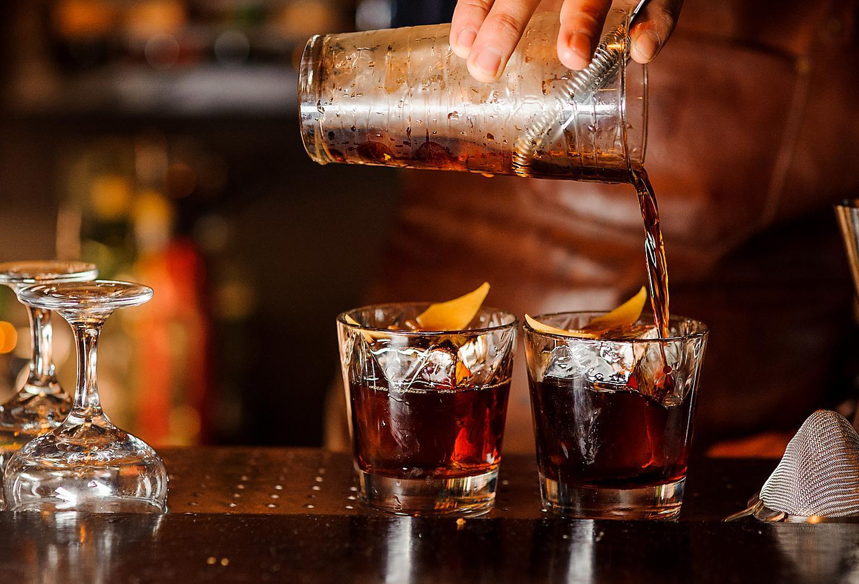 New Orleans Bayou Bar Whiskey