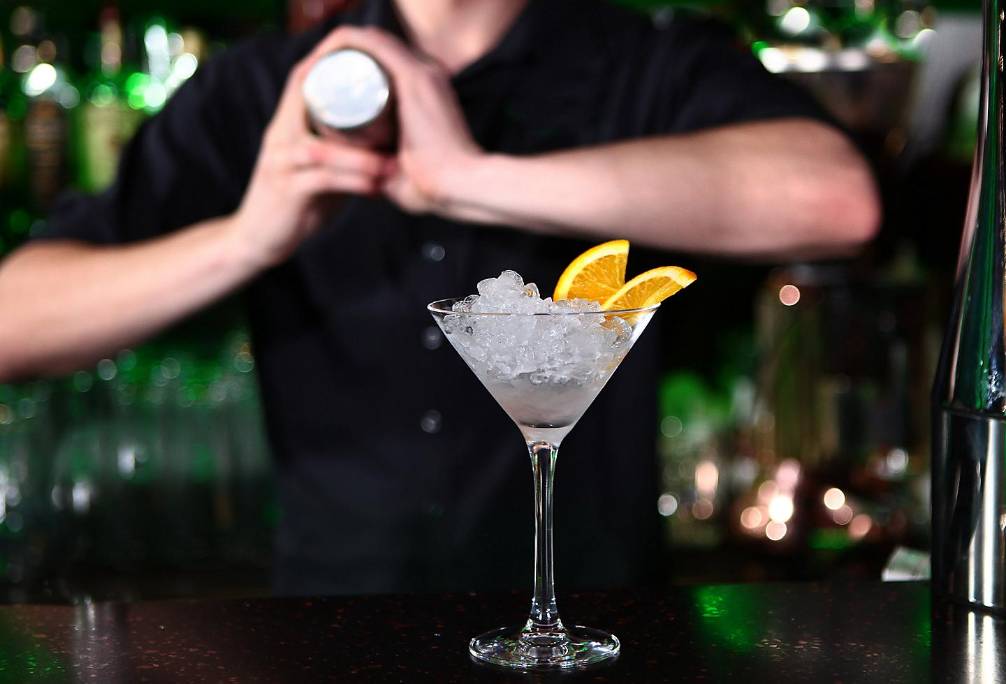 New Orleans Compere Lapin Bartender