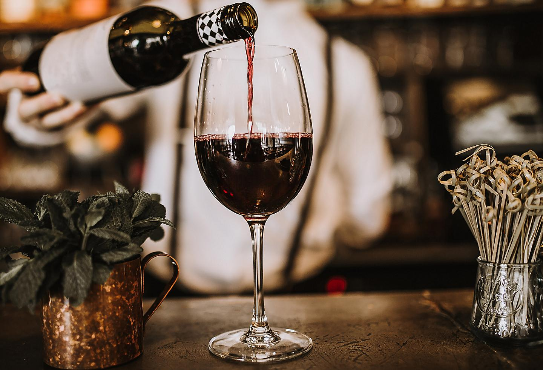New Orleans Wine Copper Vine Bartender