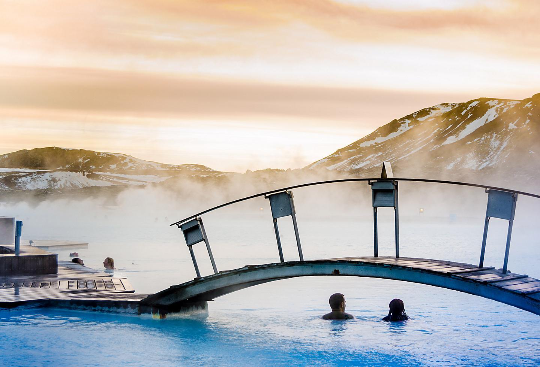 Iceland Reykjavik Blue Lagoon Geothermal Spa