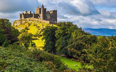 Scenic View of Irish Castle