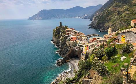 Italy Cinque Terre Coast Traditional Homes