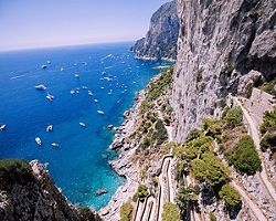 Aerial View of Capri