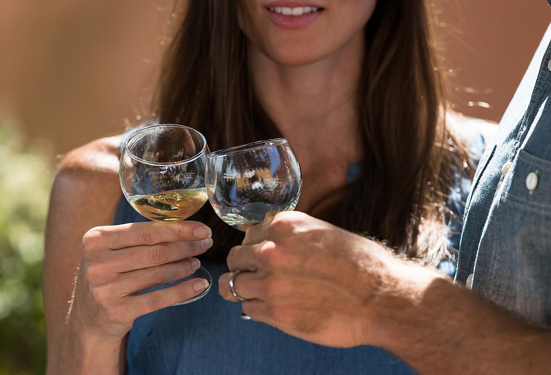 Italy Rome Couple Enjoying Wine Tasting