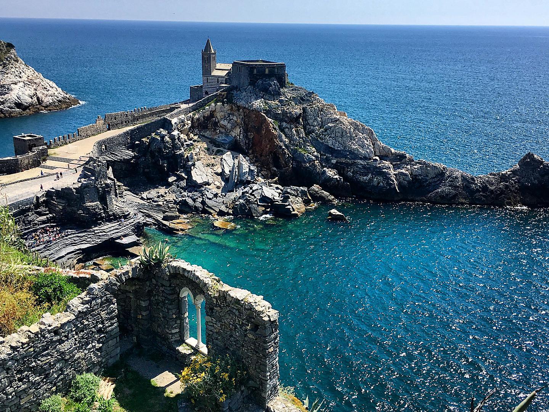 La Spezia Portovenere Cliffs