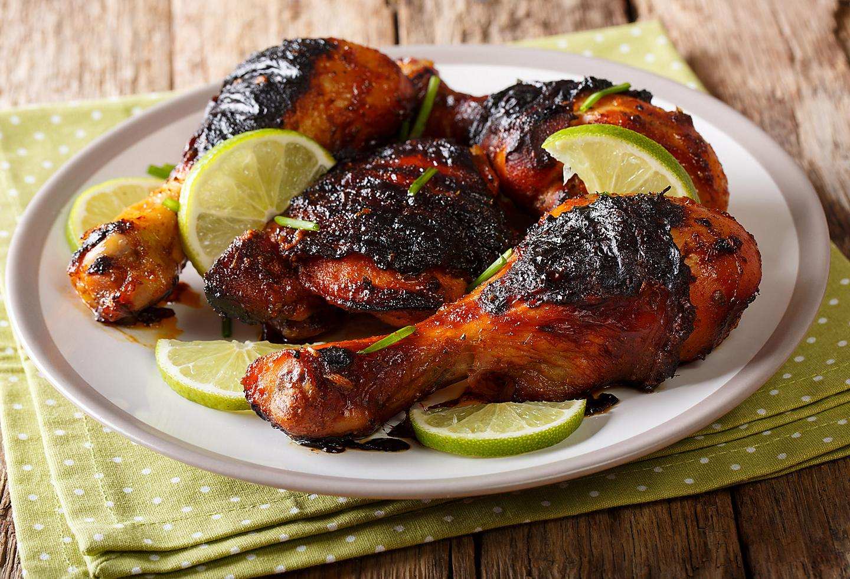 Jamaican Jerk Chicken Lime