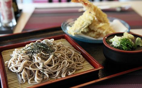Traditional Japanese Noodle Shop