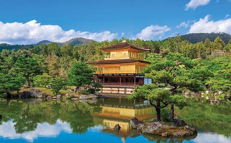 Japan, The Golden Pavilion, Tokyo