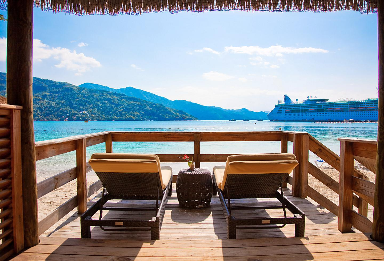 Haiti Labadee Private Overwater Cabanas