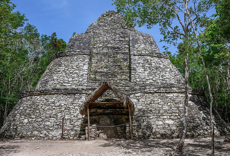 Mexico Costa Maya Coba Temple Ruins