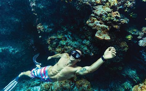 Mexico Cozumel Snorkeling Underwater Reefs