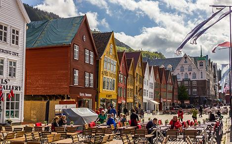 Historical Town in Norway