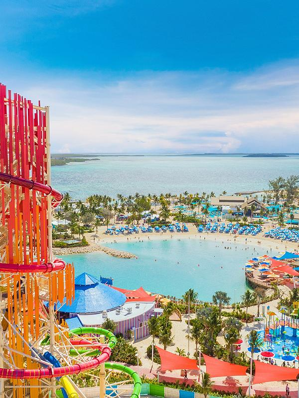 Perfect Day at CocoCay aerial island view