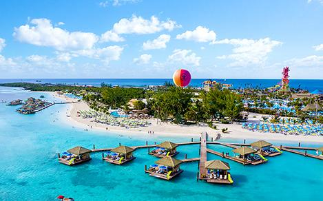 Perfect Day Coco Cay Beach Club Floating Cabanas Homepage Square