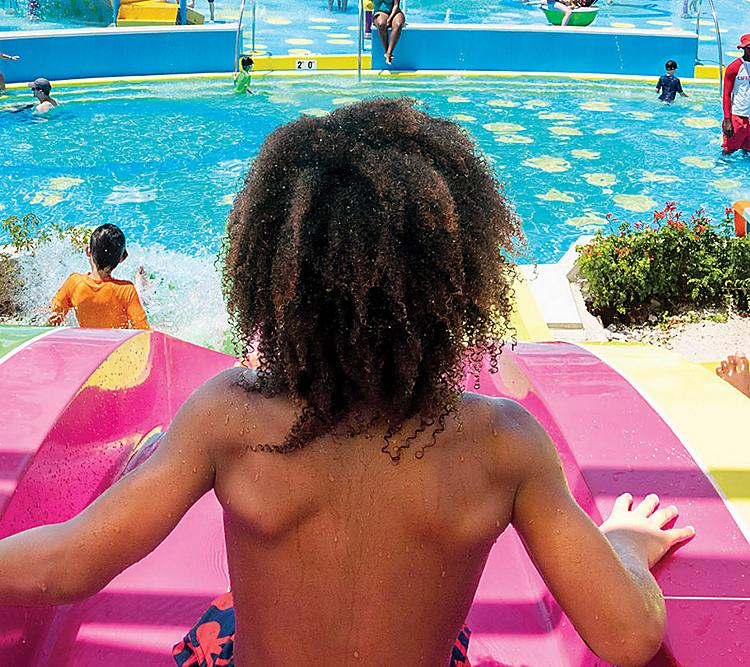 Perfect Day Coco Cay Kids Slide Splashaway Bay