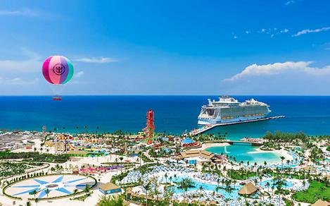 Perfect Day Coco Cay Harmony of the Seas Docked