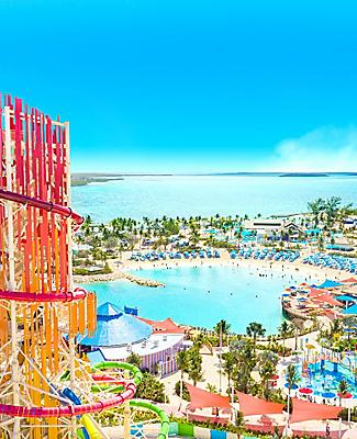 Perfect Day Coco Cay Aerial Island View