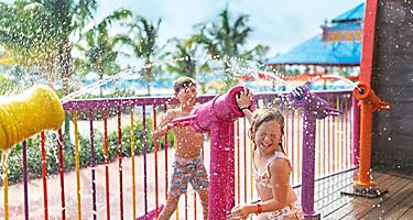 Perfect Day Coco Cay Captain Jill Galleon Kids Splashing