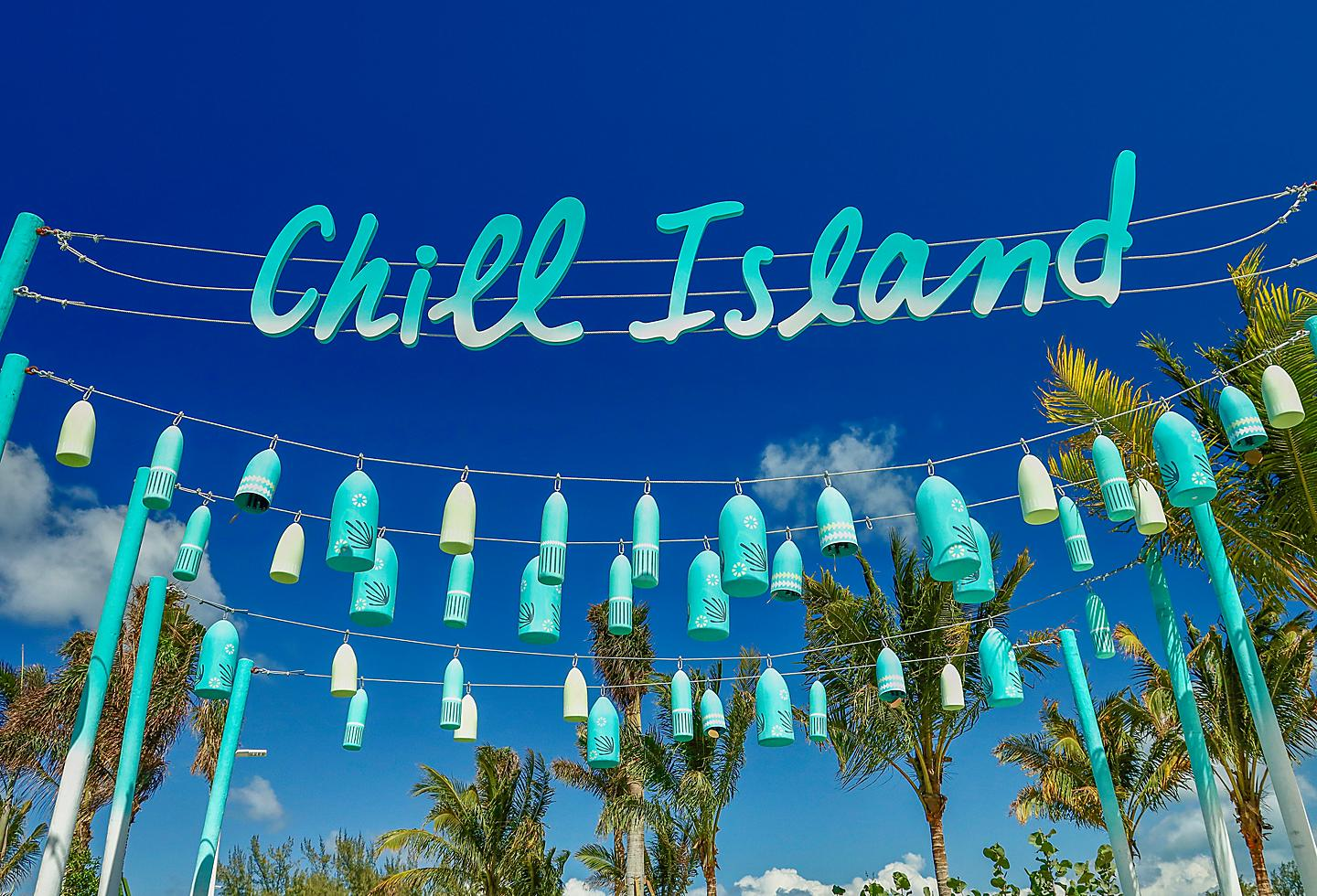 Chill Island Sign, Perfect Day at Cococay