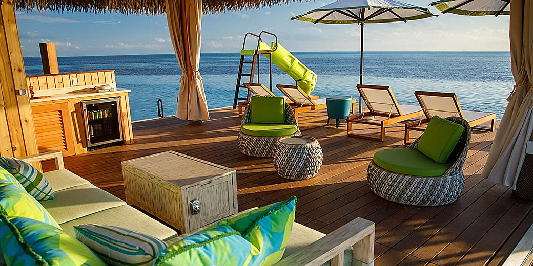 Perfect Day Coco Cay Floating Cabanas Slide