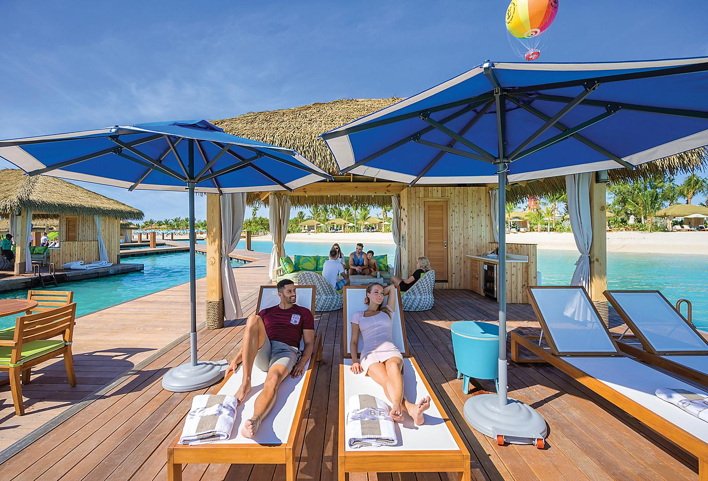 Perfect Day at Cococay Floating Cabanas