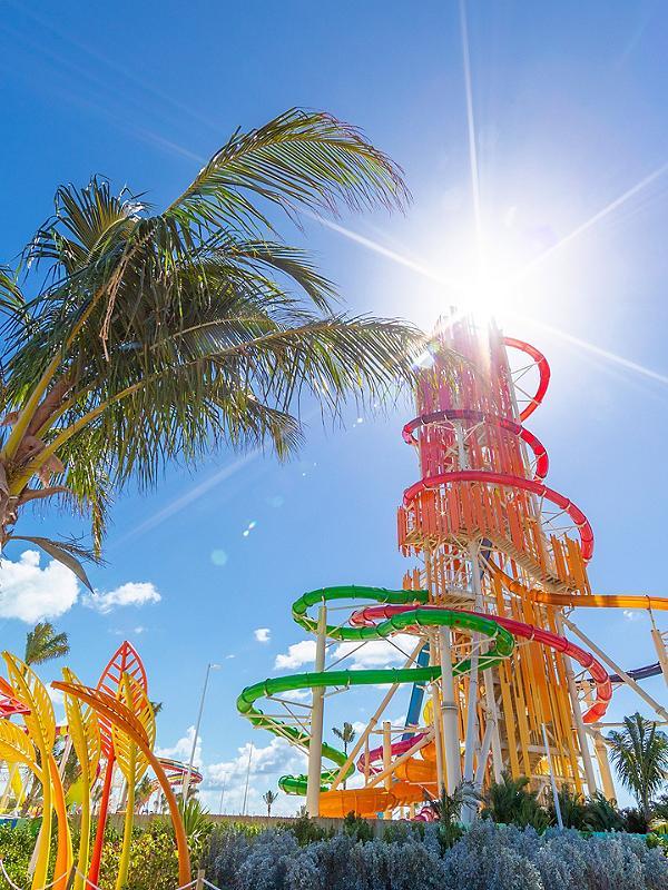 Perfect Day Coco Cay Dare Devil's Tower Sunny Day