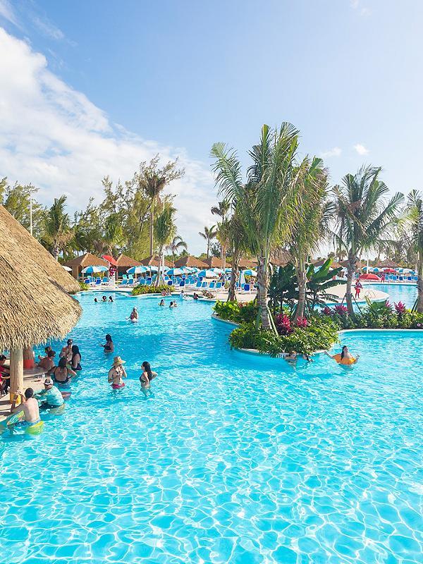 Perfect Day Coco Cay Oasis Lagoon Swim Up Bar