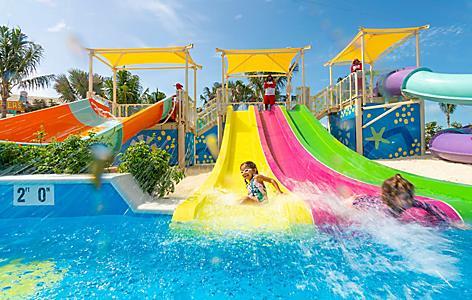 Perfect Day Coco Cay Splashaway Bay Girl Slidiing