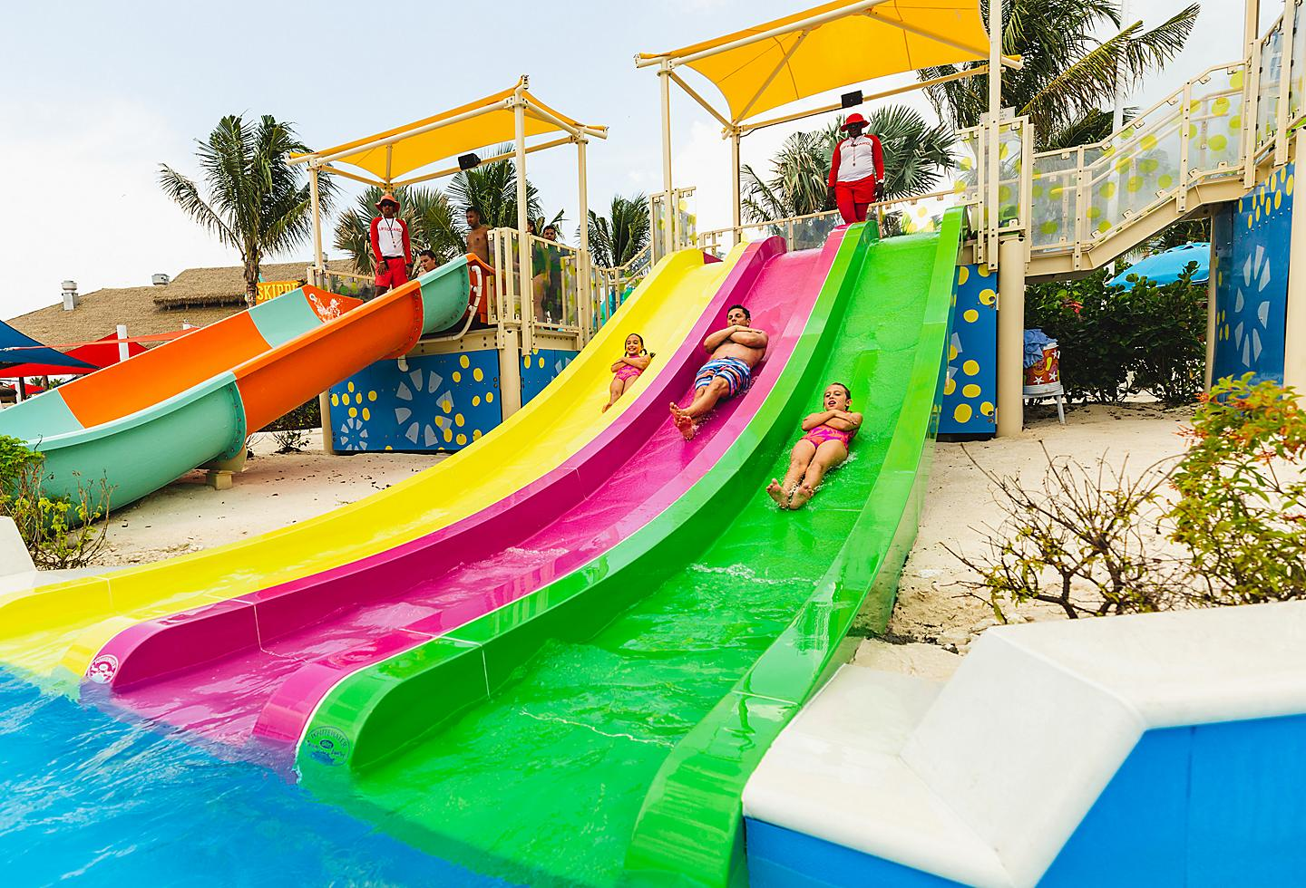 Racer Slides Splashaway at Perfect Day at CocoCay