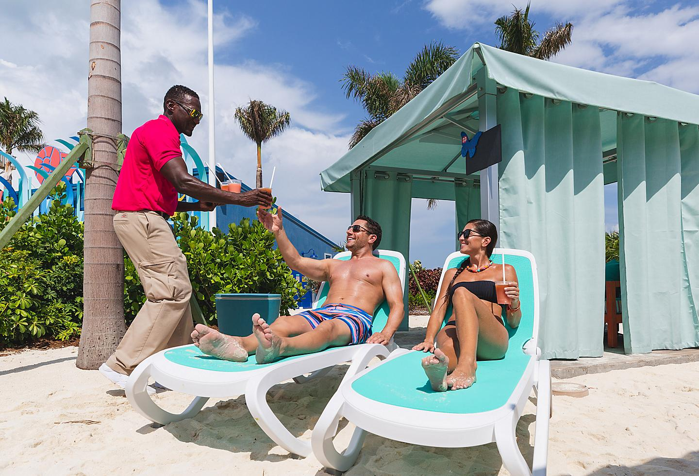 Perfect Day Coco Cay Thrill Water Park Cabanas