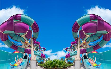 Double Slides and Double Days  at Perfect Day Coco Cay
