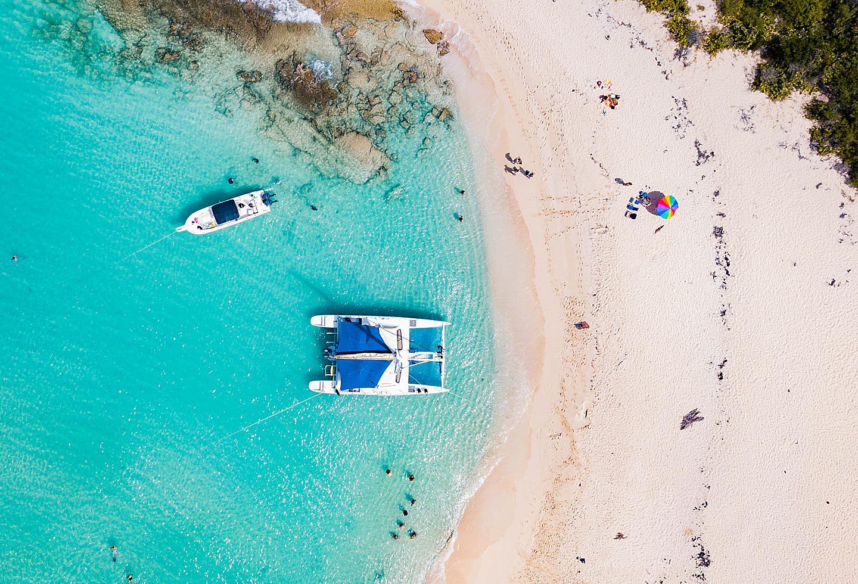 Puerto Rico Cayo Icacos Catamaran Private Beach