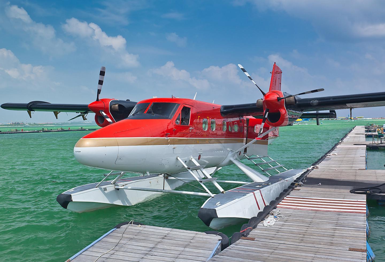 Puerto Rico Sea Plane Ocean