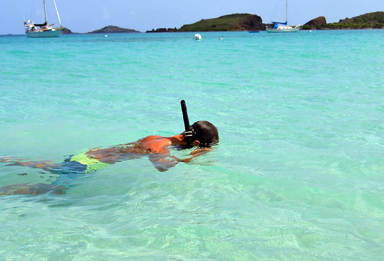Puerto Rico Snorkeling Caribe Hilton
