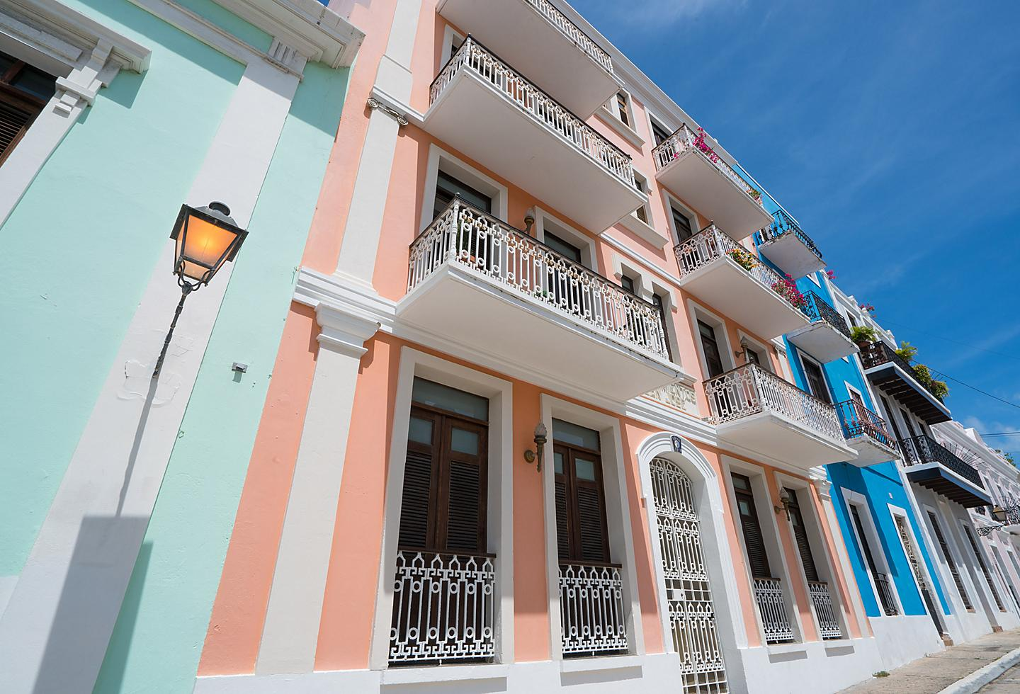 Traditional Puerto Rico Colorful Homes