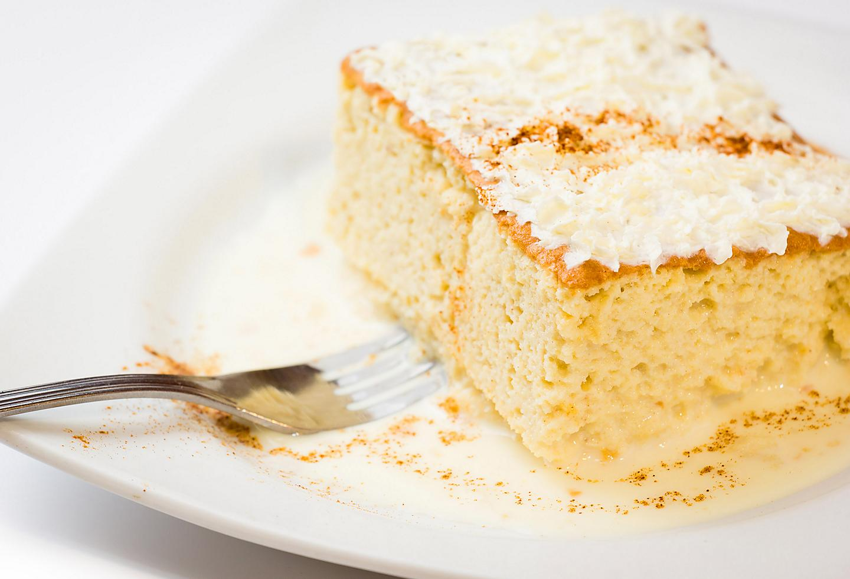 Tres leches Puerto Rican Dessert