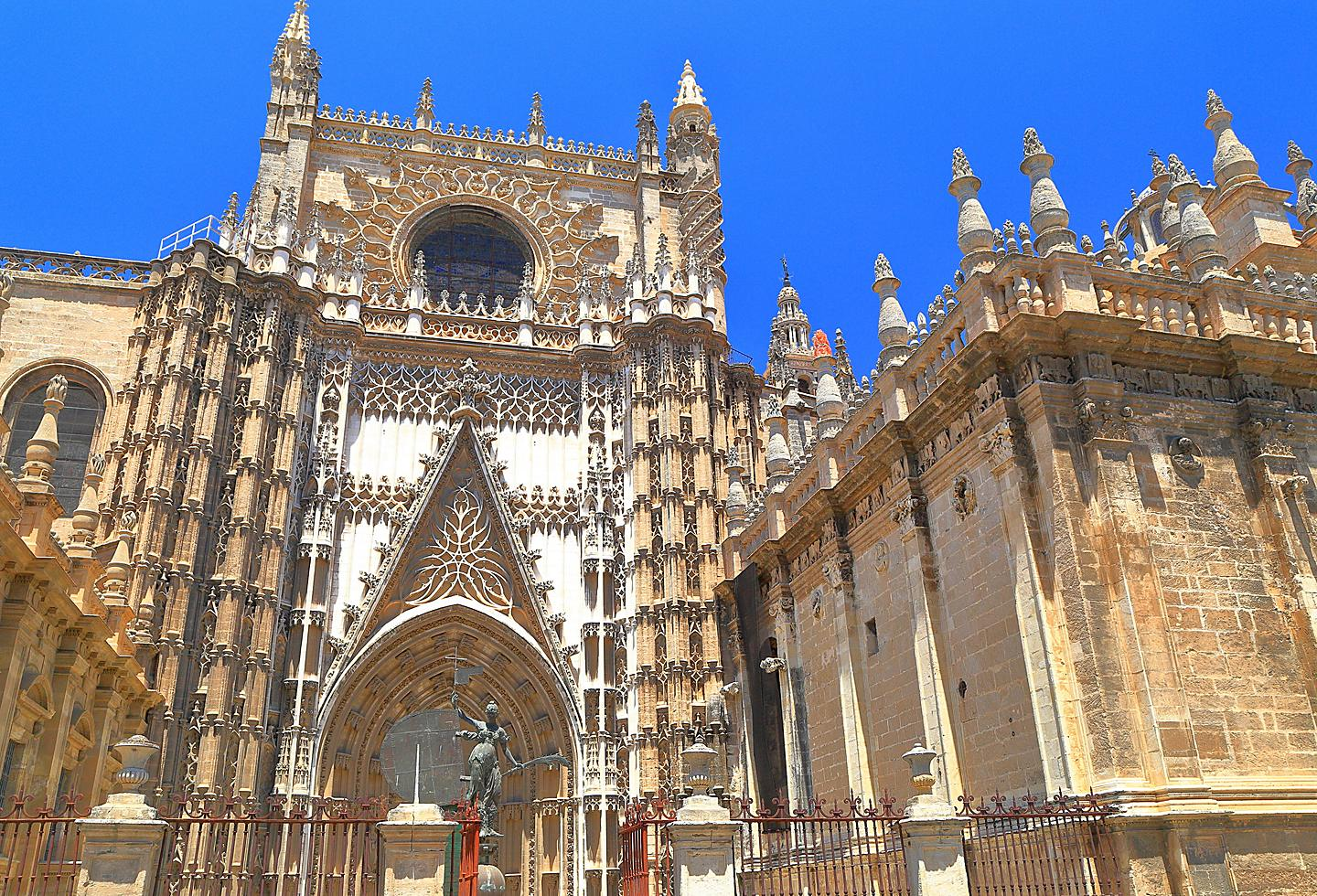 Spain Seville Cadiz Cathedral Gothic Church